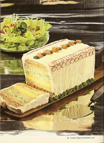 vintage sandwich loaf food photography