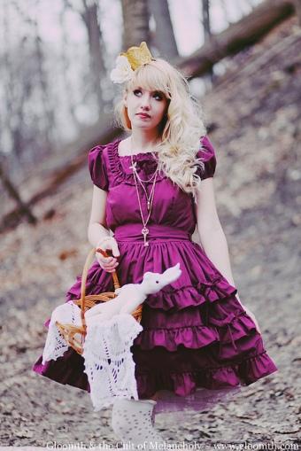 chrysanthemum dress by gloomth