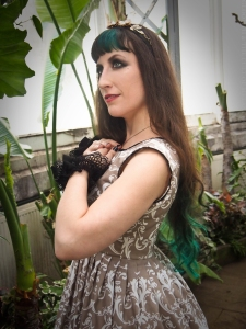 gothic damask bridesmaid dress gloomth