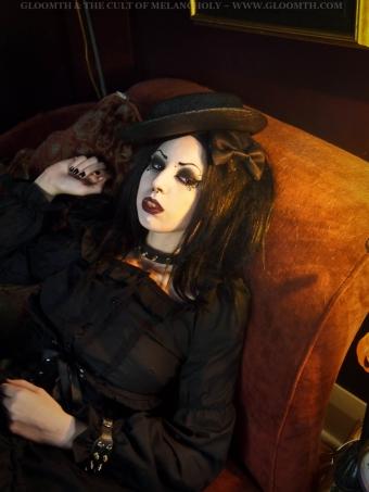 gothic vampire photoshoot gloomth
