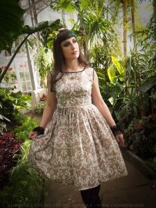 damask lolita jumperskirt by gloomth