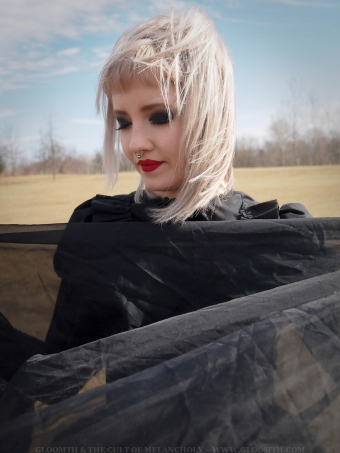 handmade gothic dress