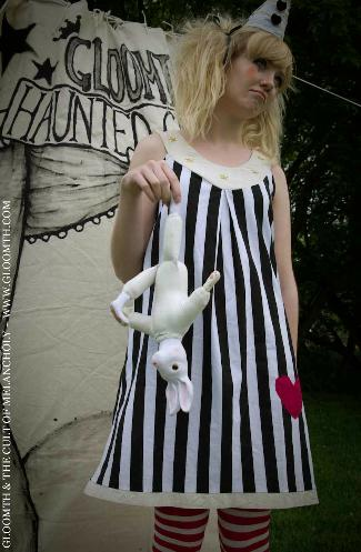 circus trapeze dress