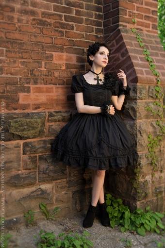 gothic lolita prom dress