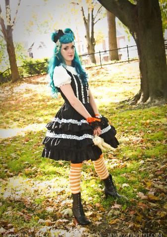 gothic lolita dress handmade