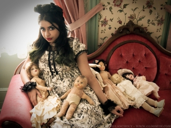 victorian lolita outfit gloomth