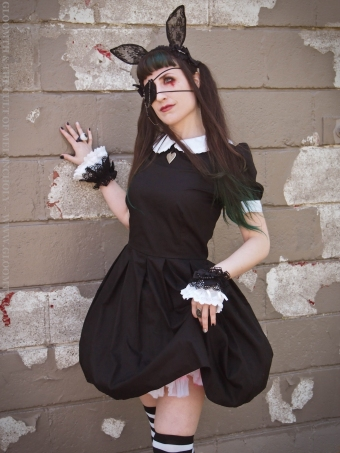 dark gurololita outfit