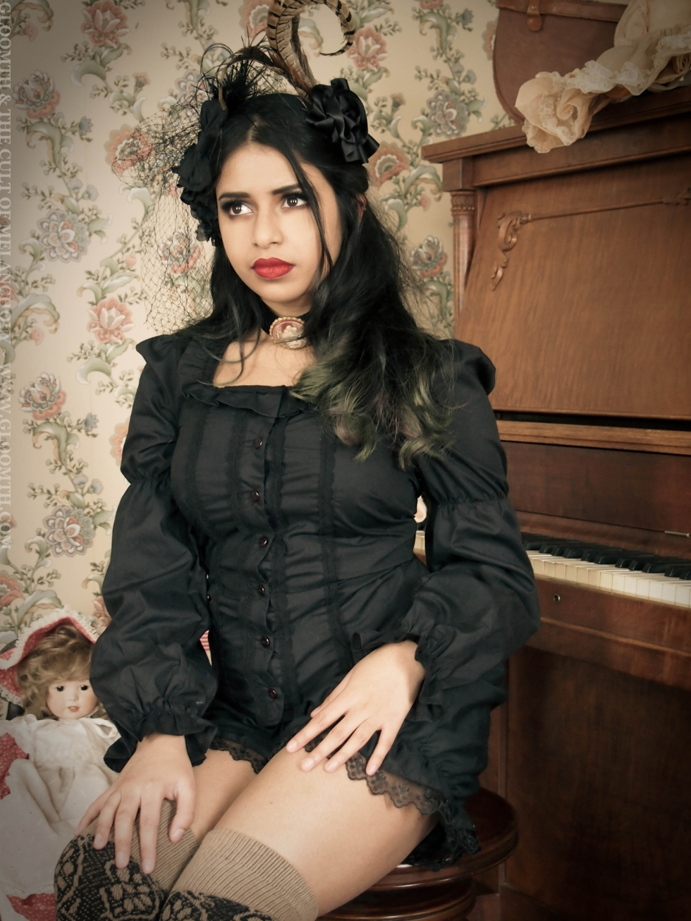 gothic victorian outfit