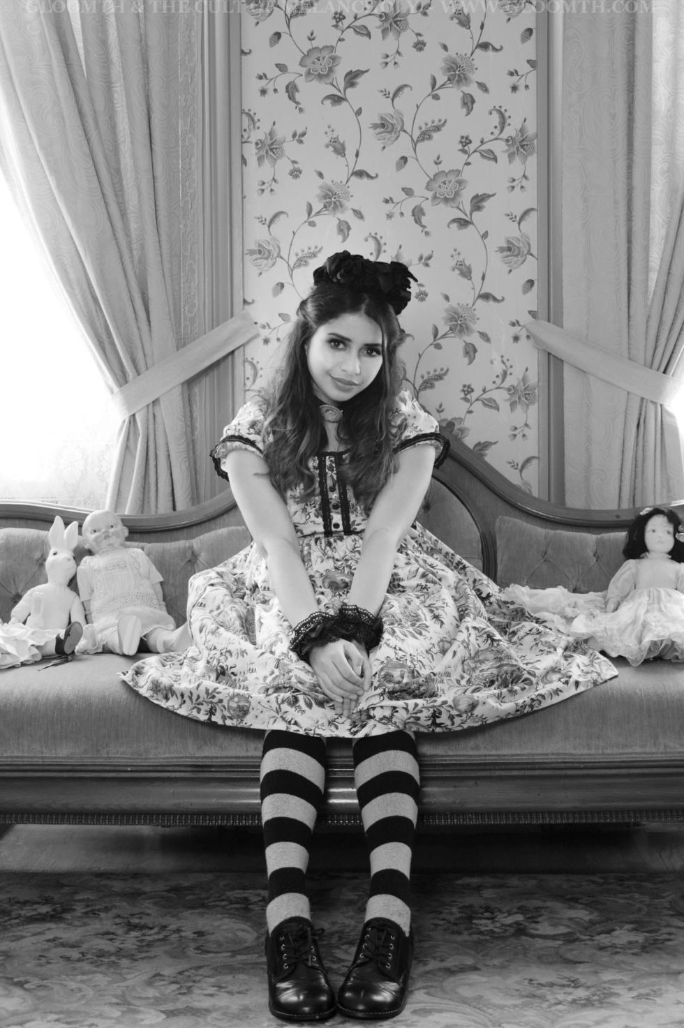 victorian lolita photoshoot