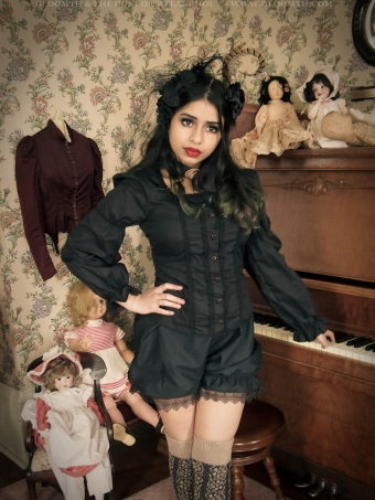 gothic victorian outfit with bloomers gloomth