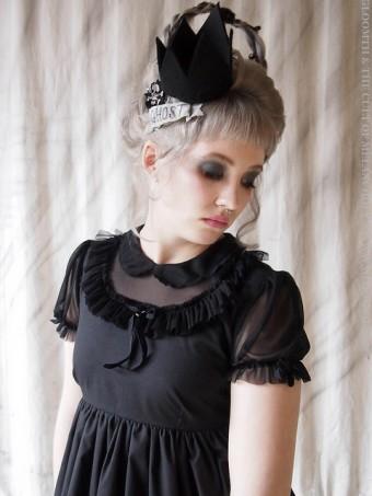 gothic doll dress