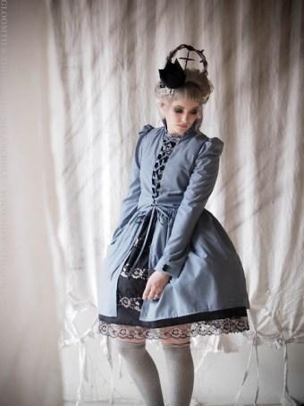 corset over dress gloomth