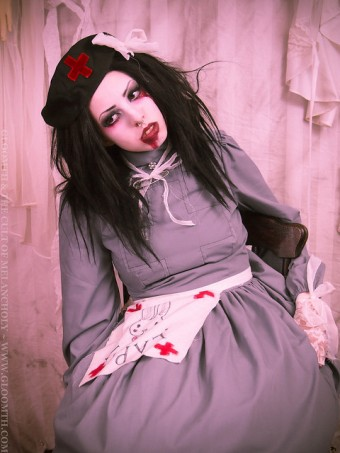 gothic nurse outfit gloomth