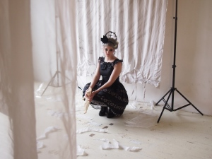 gloomth ghost story behind the scenes photoshoot