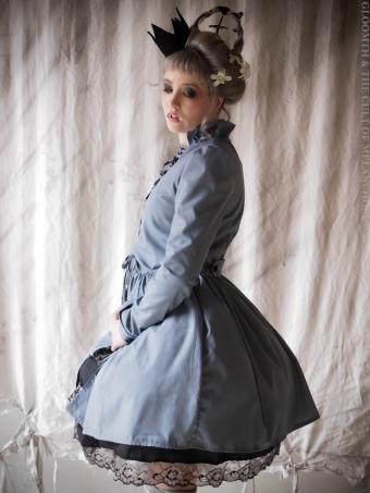 gothic corset overcoat gloomth