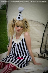 night circus clown outfit