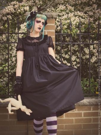 charlotte gothic dress
