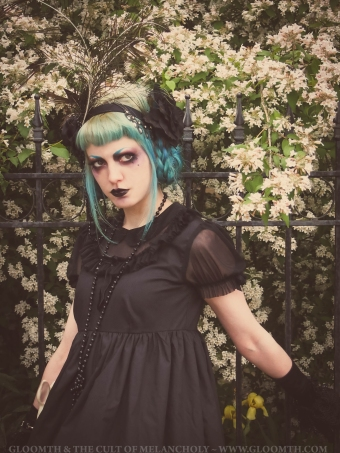 gothic lolita 1920s gloomth