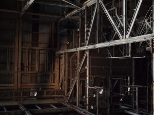 hearn generating station inside toronto