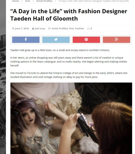 toronto guardian taeden hall interview gloomth