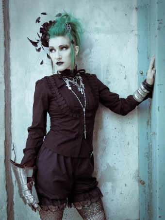 gloomth aristocracy gothic blouse