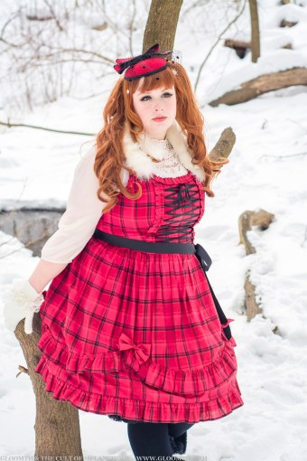 plus size lolita outfit