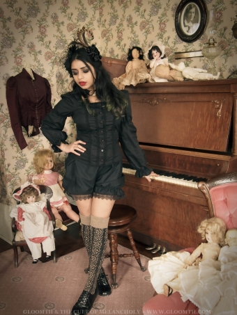 gothic victorian doll outfit