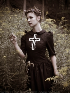 gothic pilgrim photoshoot gloomth