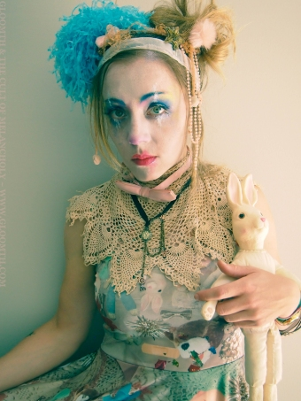 clown makeup fashion gloomth toronto