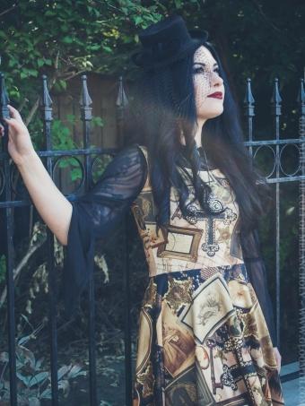 victorian mourning ephemera dress gloomth nicole ruin