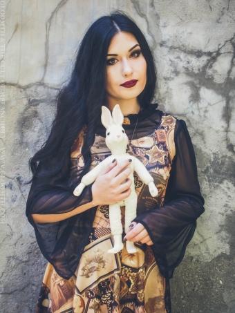 victorian mourning ephemera print doll dress gloomth