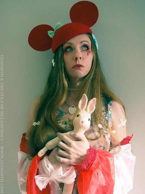 creepy nurse outfit