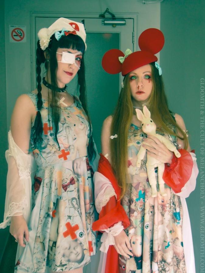 doll hospital theme photoshoot gloomth
