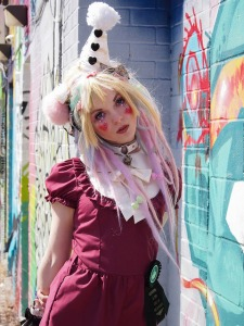 kawaii raver clown outfit with onesie by gloomth