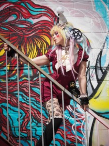 kawaii raver fashion graffiti alley east toronto
