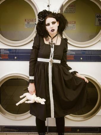 laundromat photoshoot