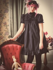 lucy gothic victorian babydoll dress