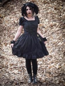 gloomth alouette dress