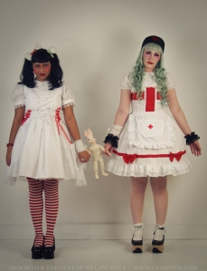 st.gloomth hospital medical lolita outfits
