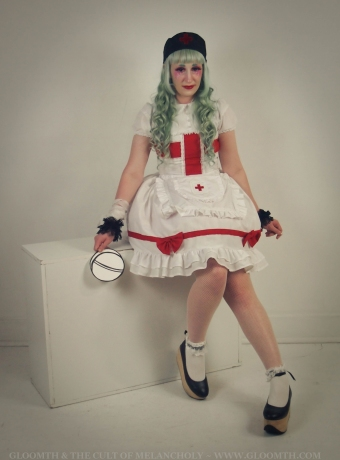 lovely lor gloomth nurse dress