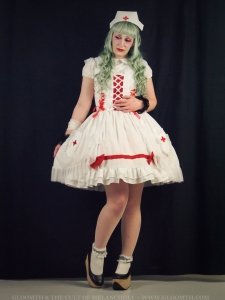 lovely lor gloomth nurse dress