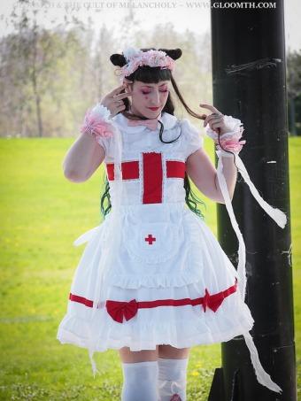 nurse dress menhera style gloomth