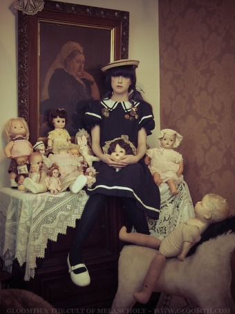 antique sailor dress doll outfit gloomth