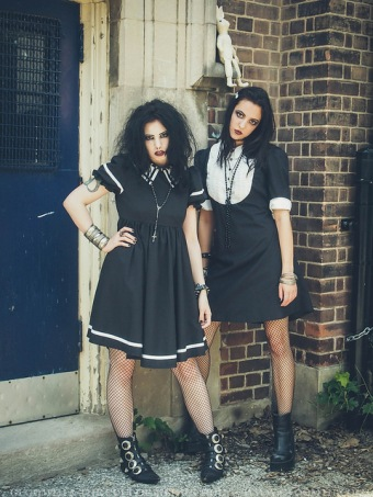 the craft inspired photoshoot gloomth