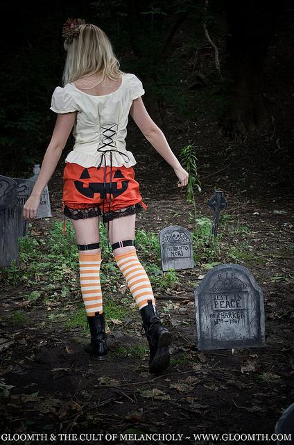 jackolantern halloween bloomers pumpkin rump gloomth