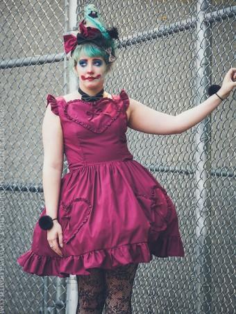heart pocket dress lolita gloomth