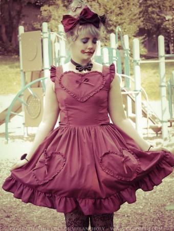 heart pocket dress plus size