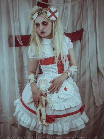gloomth nurse outfit
