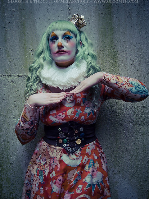 scary clown outfit makeup lovely lor gloomth