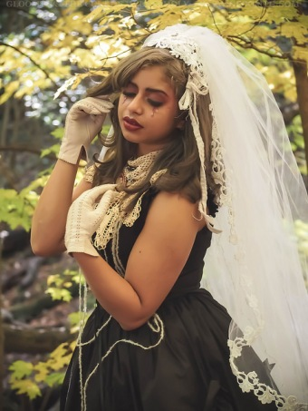 gloomth ghost gothic bride halloween ashavari